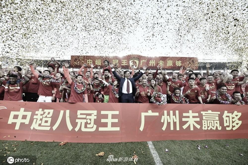 Após temporada conturbada, Guangzhou Evergrande conquista o título do Campeonato Chinês