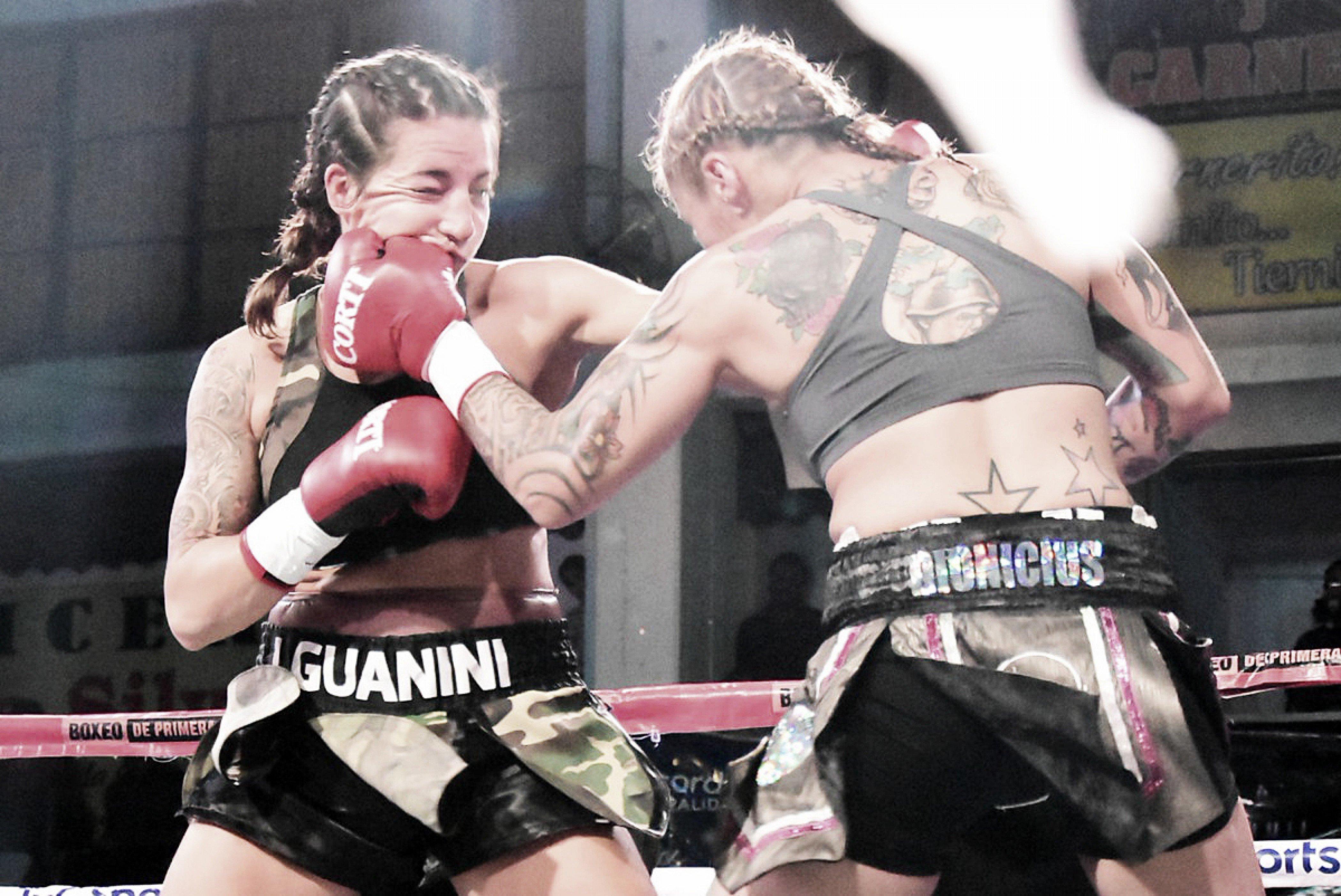Guanini nueva campeona Mundial y Cáceres retuvo el Sudamericano