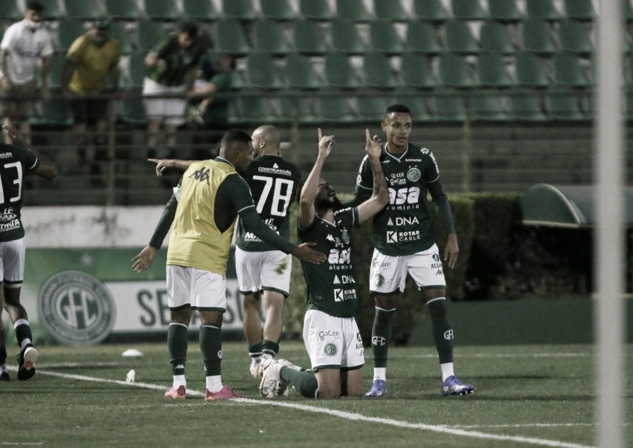 Guarani vence o Londrina e volta à briga pelo G-4 na Série B