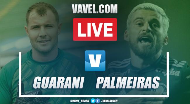 Melhores momentos de Guarani 2x1 Palmeiras no amistoso