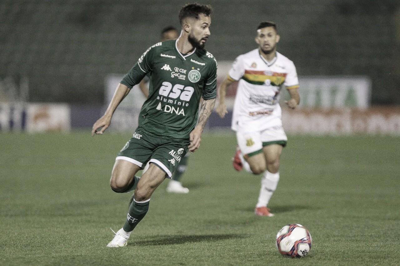 Guarani e Sampaio Corrêa empatam em jogo morno na Série B