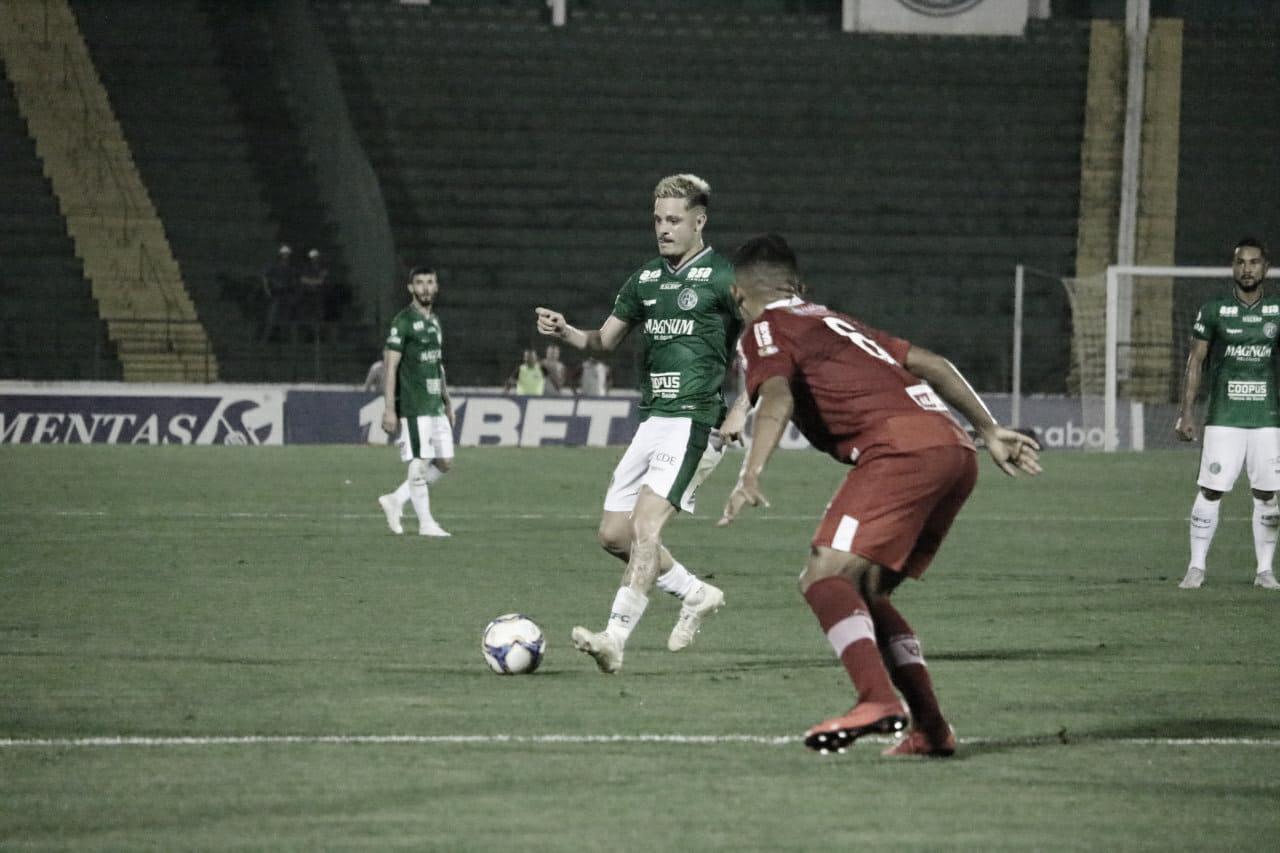 Com gol de Ricardinho, Guarani vence CRB e respira contra a degola
