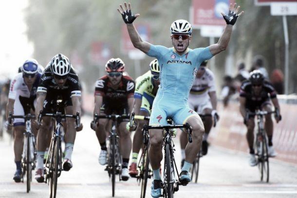Abu Dhabi Tour, il primo sprint è di Guardini