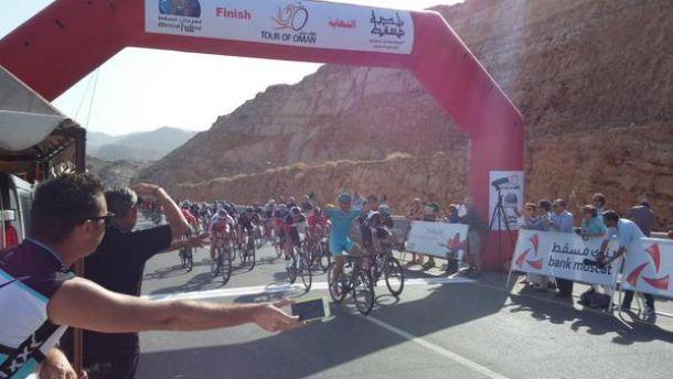 Tour of Oman, 1° tappa: finalmente Guardini