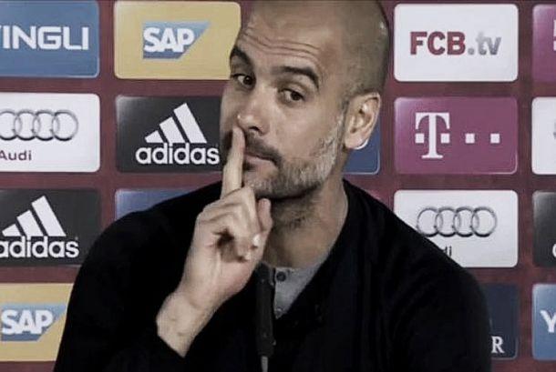"""Pep Guardiola manda volante Kehl se calar após declaração: """"É melhor não dizer nada"""""""