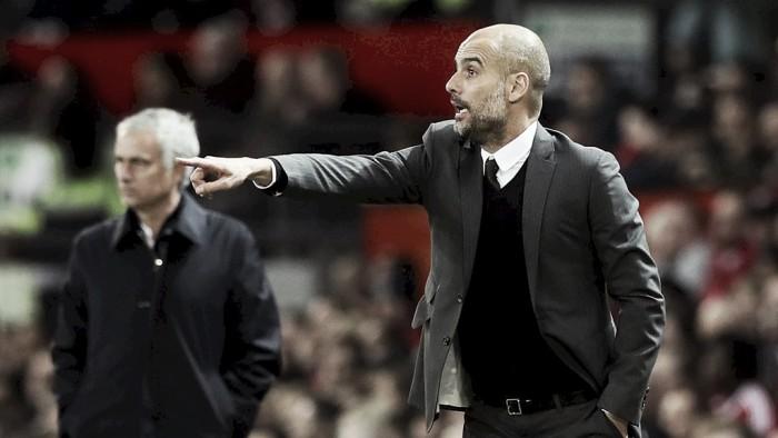 """Guardiola minimiza derrota frente ao United: """"Ainda temos três competições para disputar"""""""