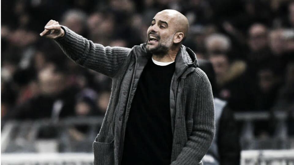 Guardiola justifica ausência de Aguero na vitória sobre Bournemouth por questões físicas