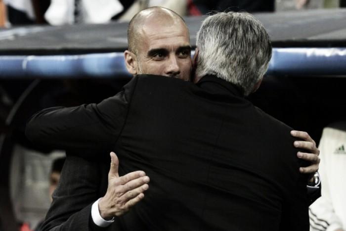 Primeira partida de Guardiola à frente do City será diante do Bayern de Munique