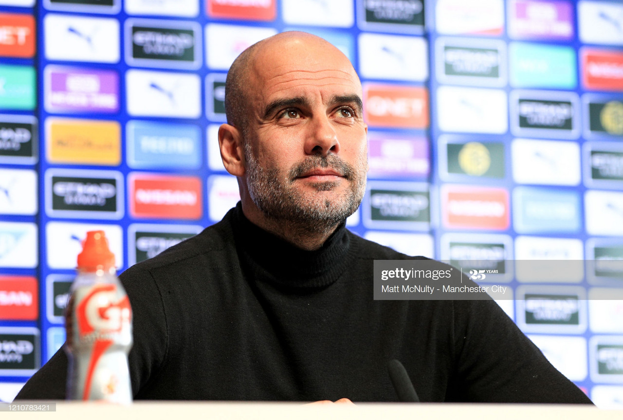 Pep Guardiola expresses fear over fitness levels but is 'excited' for Arsenal clash