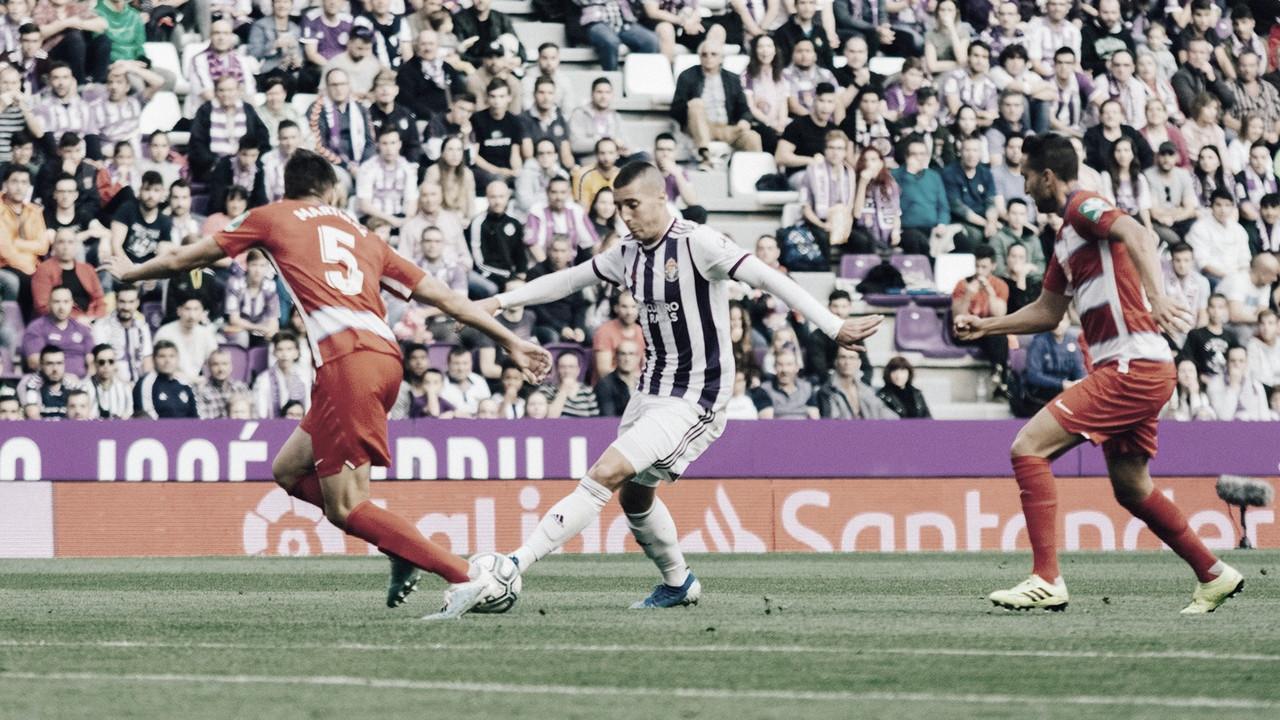 Claves para el partido entre Real Valladolid y Granada CF