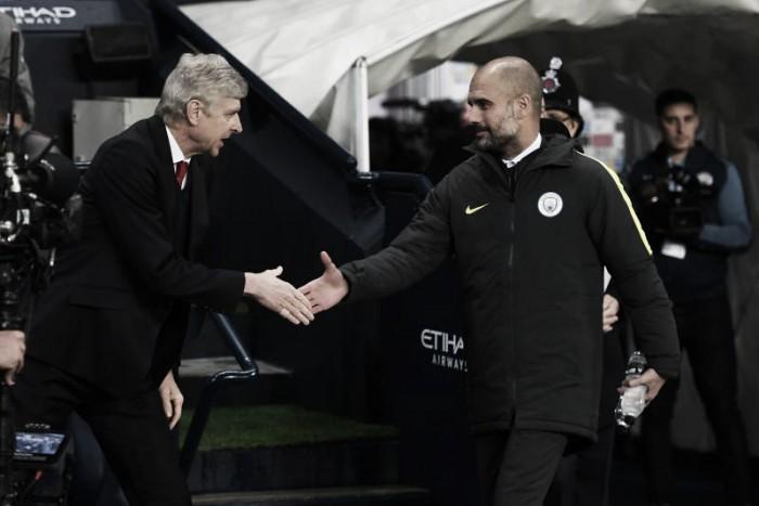 Wenger reconhece 'grandiosidade' de Guardiola e revela que espanhol já quis jogar no Arsenal