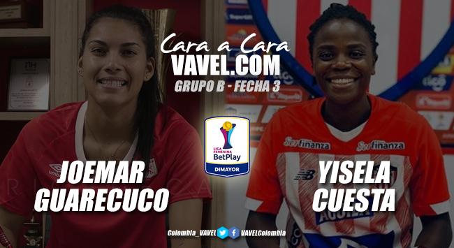 Cara a cara: Yisela Cuesta vs Joemar Guarecuco