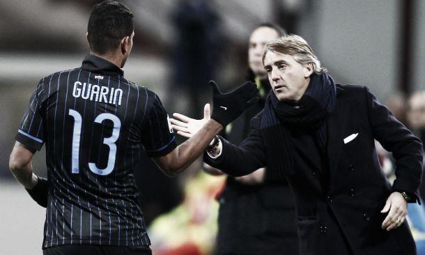 """E' festa Inter, Mancini: """"Strada ancora lunga"""". Guarin: """"Ho sognato un gol così"""""""