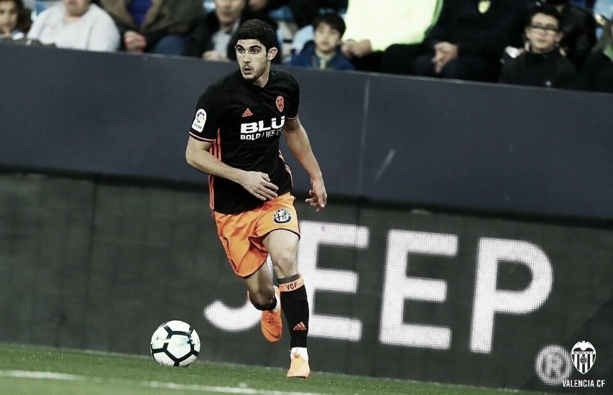 Málaga CF - Valencia CF: puntuaciones del Valencia CF, 24ª jornada de la Liga Santander