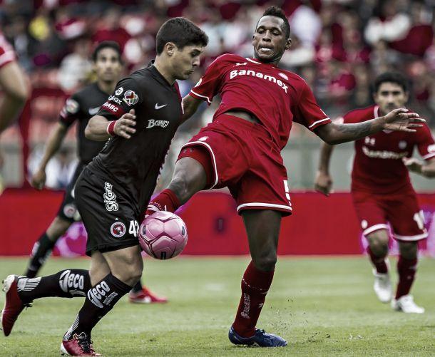 Toluca - Tijuana: se juegan el todo por llegar a semifinales