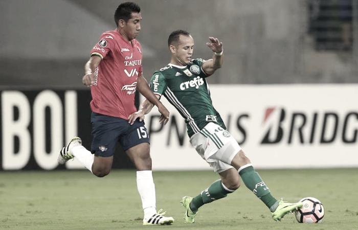 """""""Lobo"""" Guerra titular en triunfo del Palmeiras en Libertadores"""