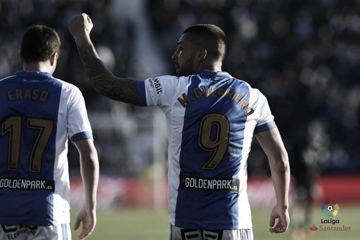 """Guerrero: """"No estaré la próxima temporada en el Leganés"""""""