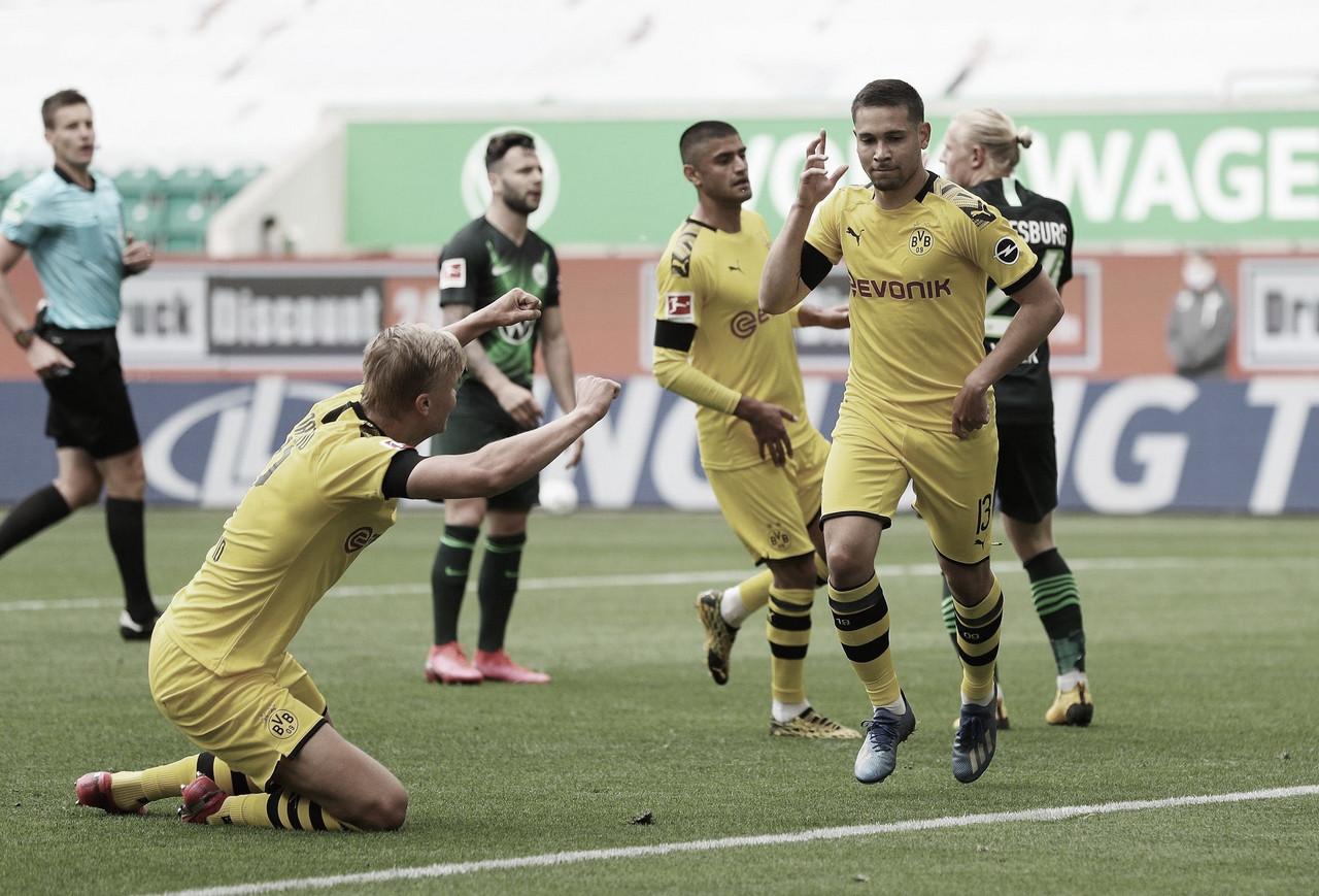 """Victoria con lo justo del Borussia Dortmund antes del """"Der Klassiker"""""""
