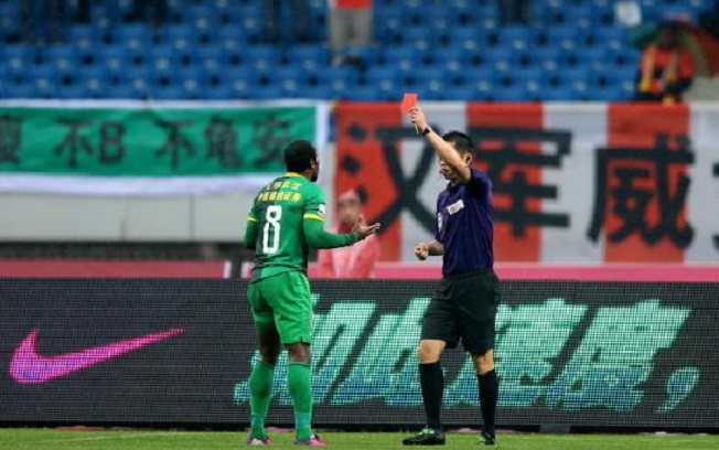 """Con """"Dinamita"""" hasta el minuto 74 Beijing Guoan empató"""