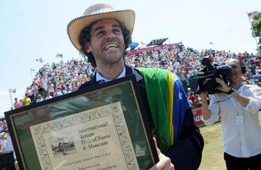 Guga e la Capriati nella Hall of Fame