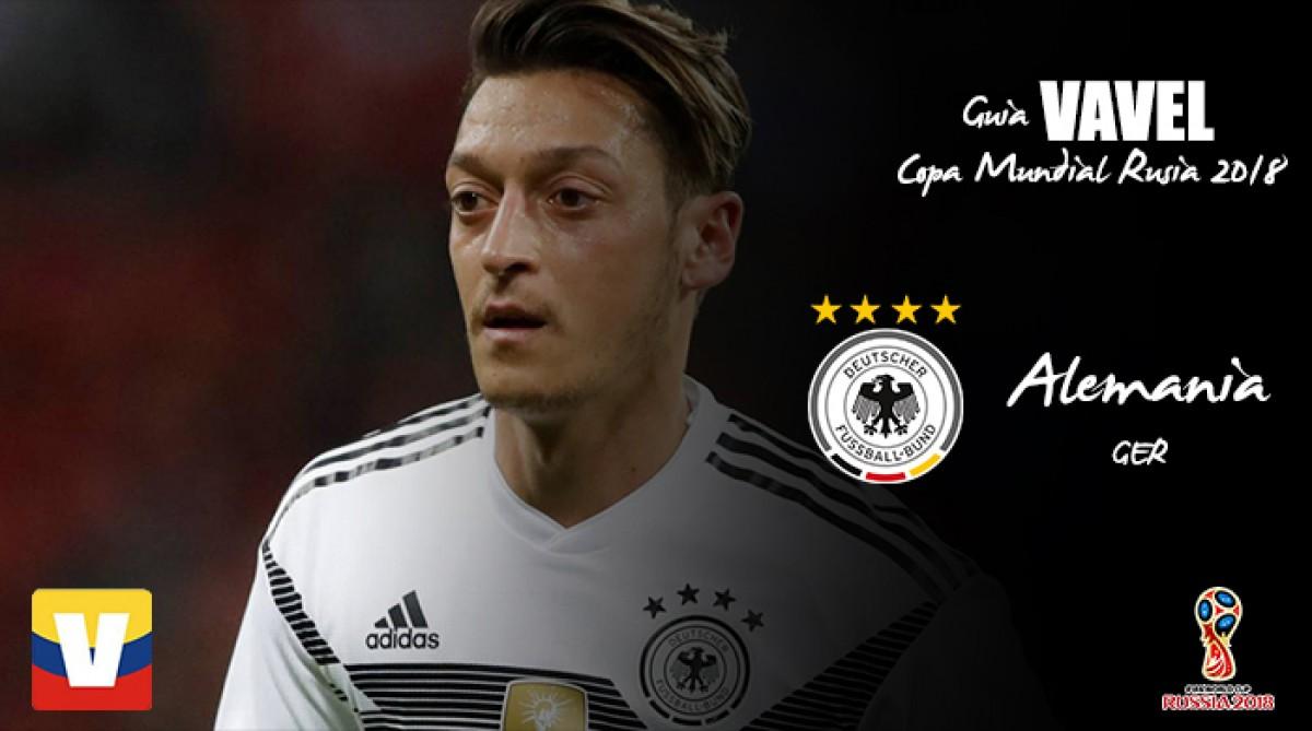 Guía VAVEL de la Copa Mundial 2018: Alemania