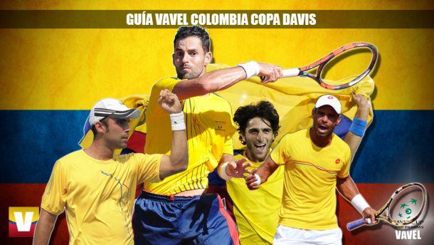 Guía VAVEL Copa Davis 2015: Colombia - Japón