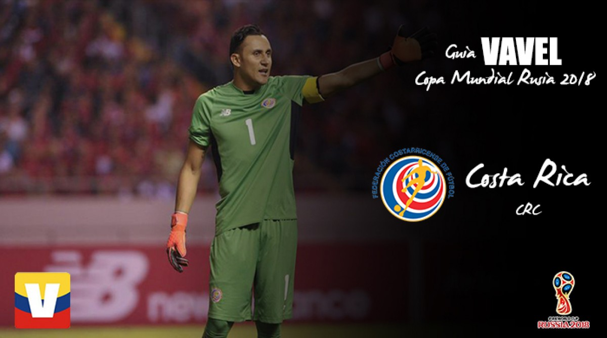 Guía VAVEL de la Copa Mundial 2018: Costa Rica