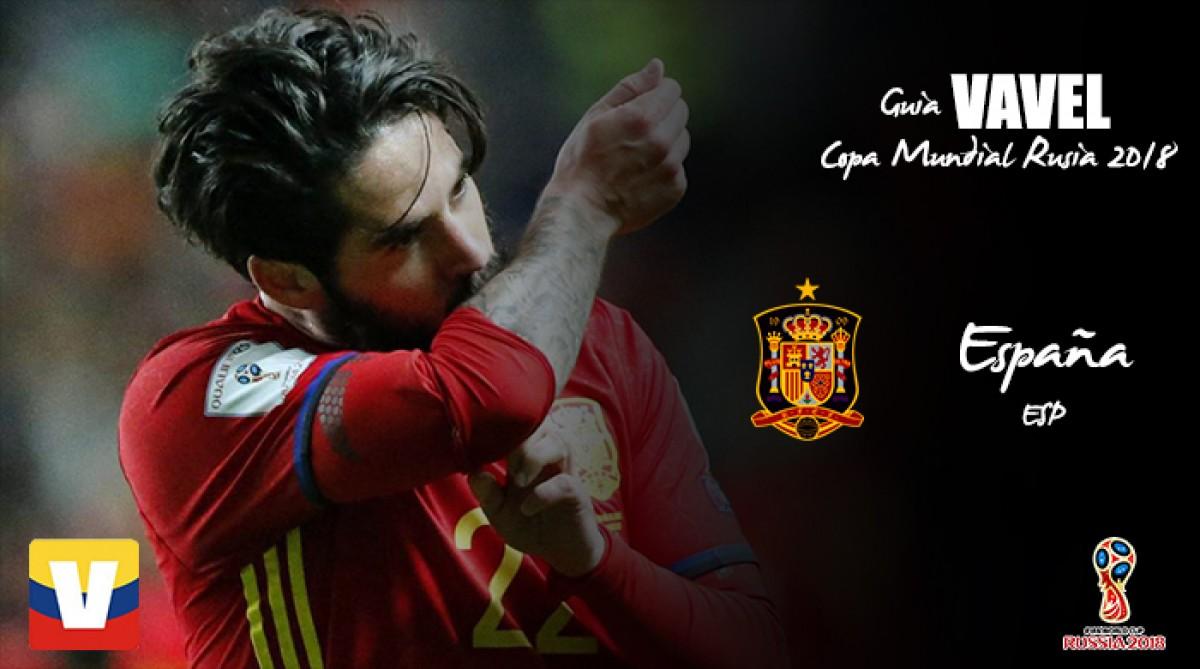 Guía VAVEL de la Copa Mundial 2018: España