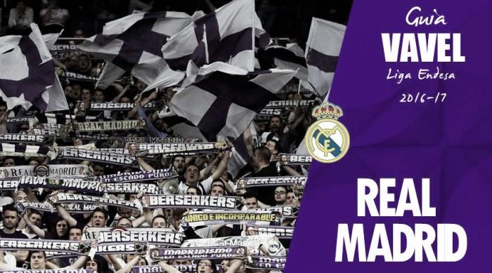 Guía VAVEL Real Madrid Baloncesto 2016-17