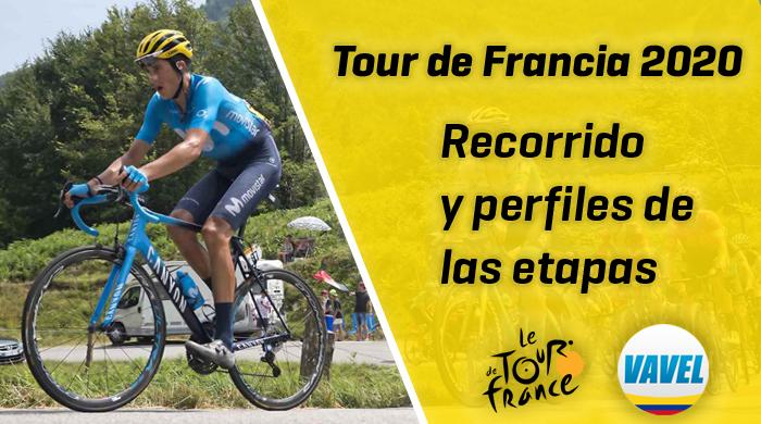 Tour de Francia 2020: recorrido y perfiles de las 21 etapas