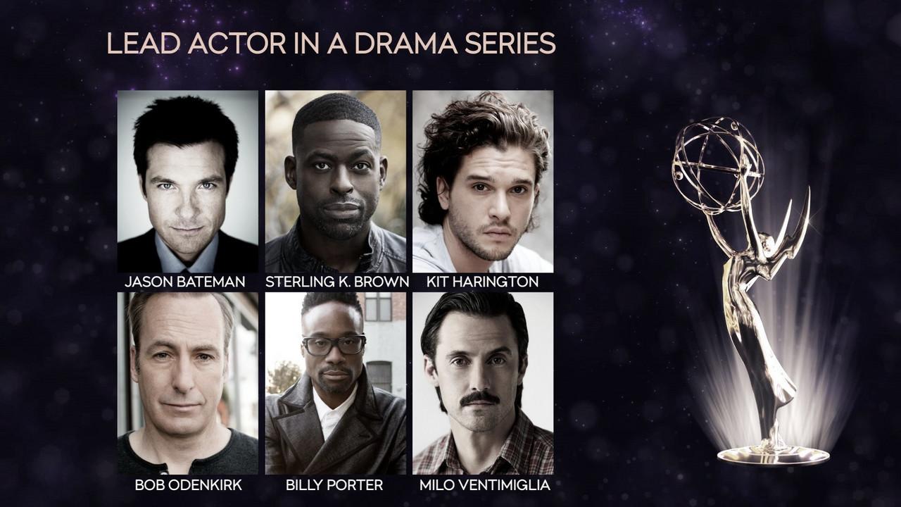Guía VAVEL: Premios Emmys 2019. Mejor actor y actriz en serie drama