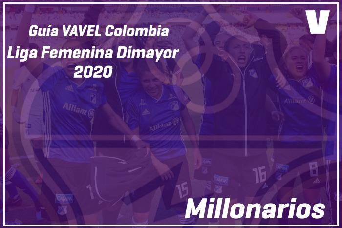 Guía VAVEL Liga Femenina Dimayor 2020: Millonarios