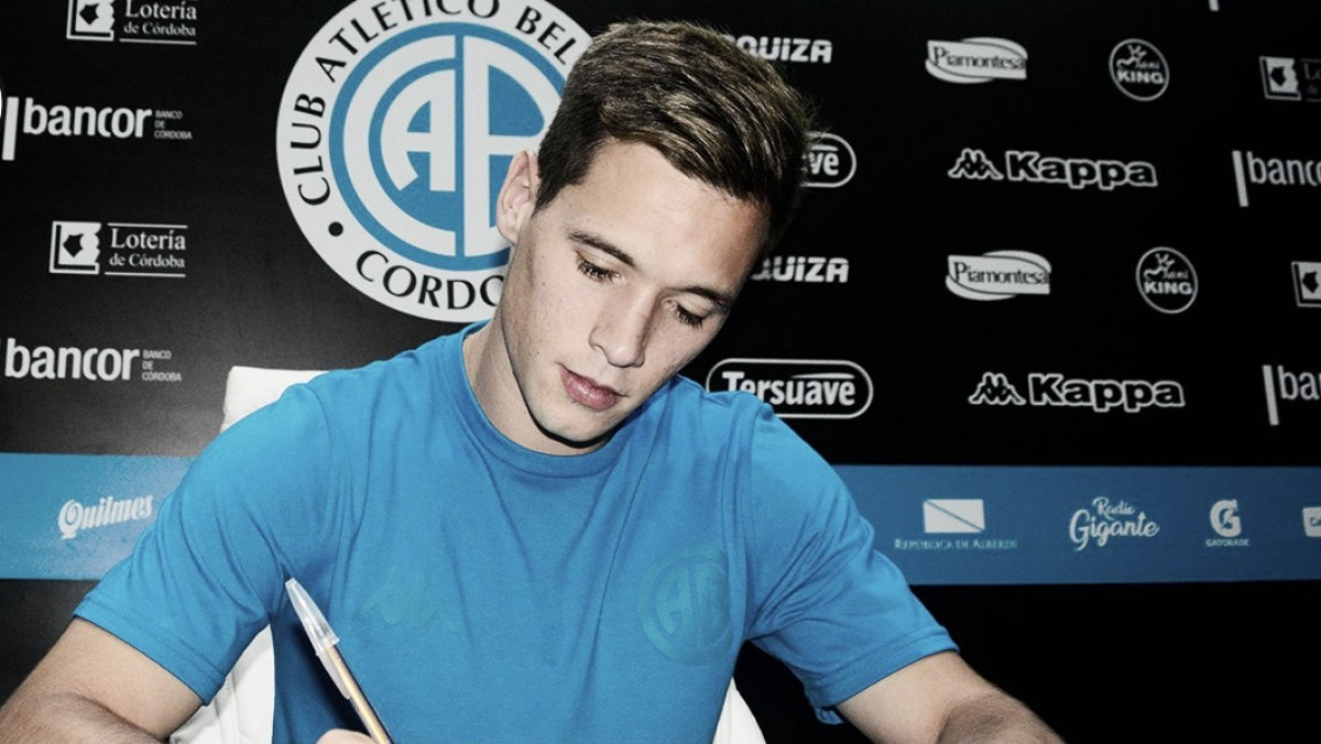 Belgrano selló a Tomás Guidara hasta 2021