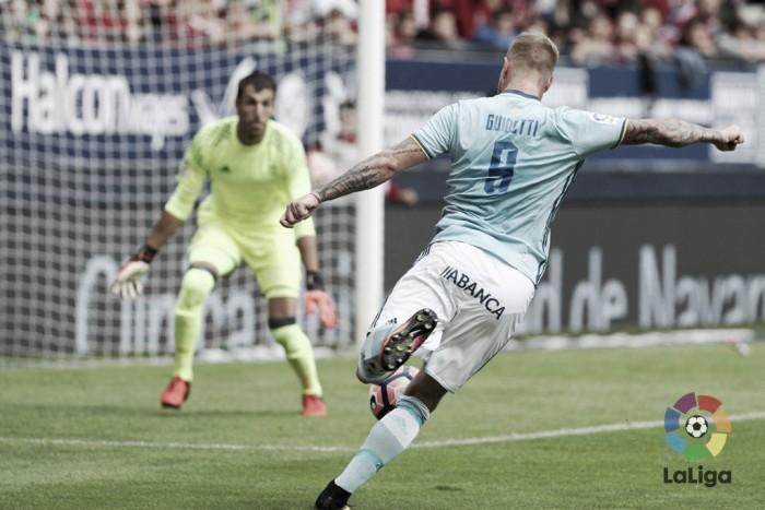 Atlético Osasuna - Celta de Vigo: puntuaciones del Celta, jornada 4 de La Liga