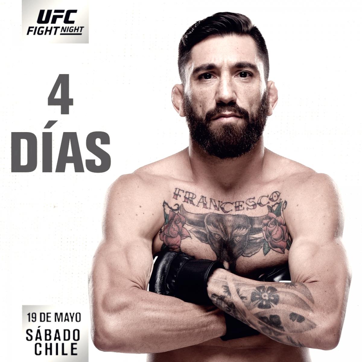 UFC Chile: Cannetti promete vengar las Malvinas