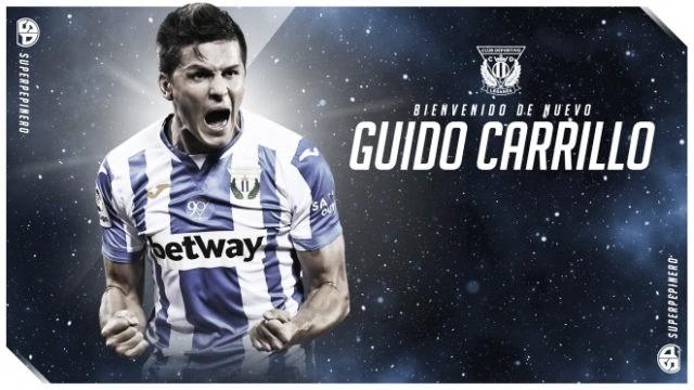 Carrillo completa la delantera del Leganés