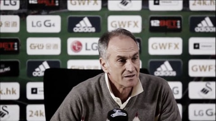 Bournemouth - Swansea City - Pre-Match Comments: Guidolin in recovery, but in high spirits