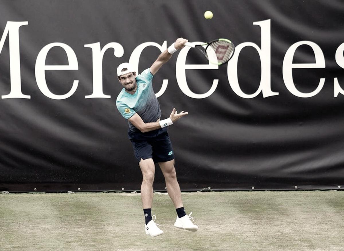 Pella avanzó en Stuttgart y está en el camino de Federer