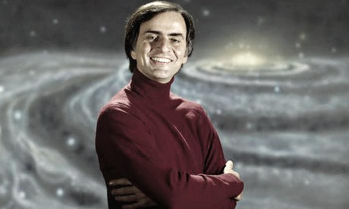 Carl Sagan, el verso libre de la ciencia