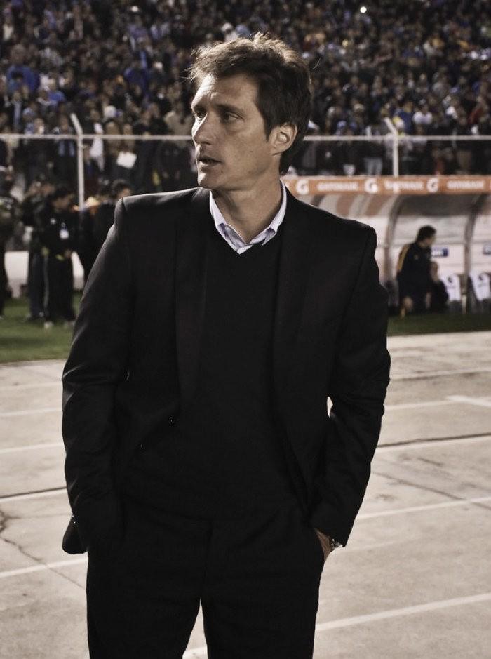 """Guillermo Barros Schelotto: """"Pese a no haber ganado, el equipo demostró personalidad"""""""