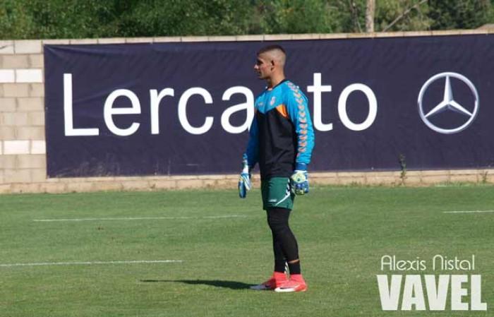 Guille Vallejo deja de entrenarse con el Guijuelo