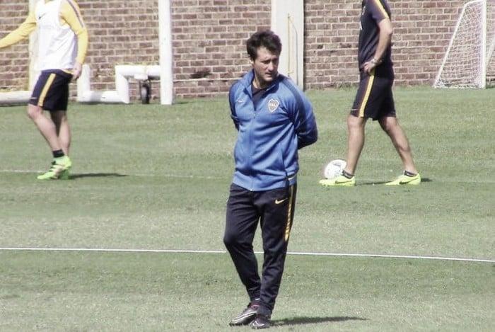 Con un Guillermo enérgico, Boca arrancó la semana de trabajo