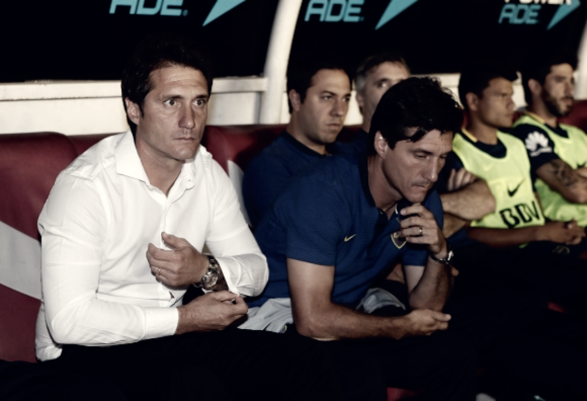 """Schelotto: """"Nos ganaron desde la actitud"""""""