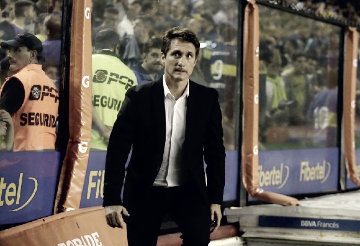 """Guillermo Barros Schelotto: """"Debíamos ganar y ganamos"""""""