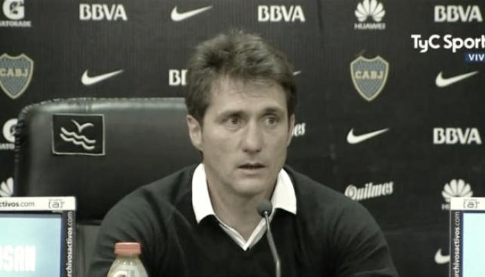 """Schelotto: """"Era importante ganar y volver a la punta"""""""