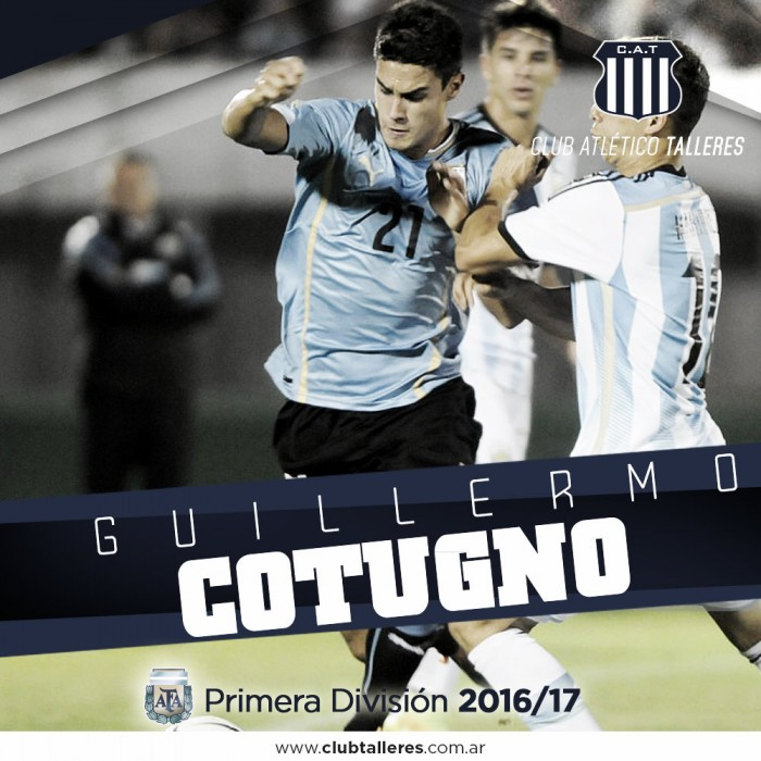Guillermo Cotugno, nuevo refuerzo de Talleres