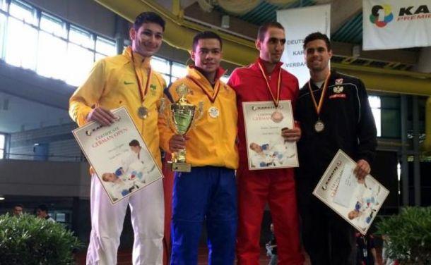 Guillermo Ramírez ganó oro para el karate colombiano
