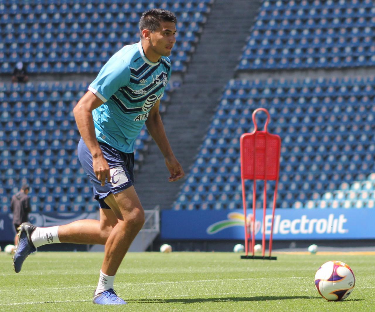 Guillermo Martínez no se desespera pese a falta de minutos