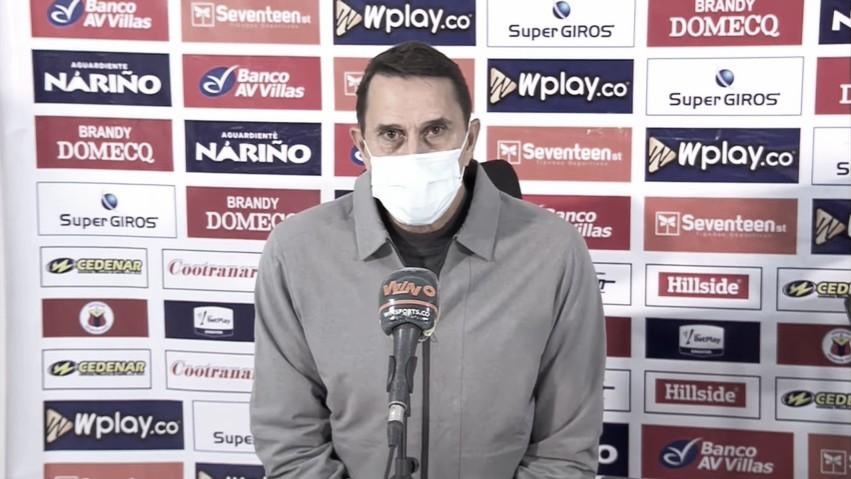 """Alexandre Guimarães: """"Podíamos haber elaborado un poco más"""""""