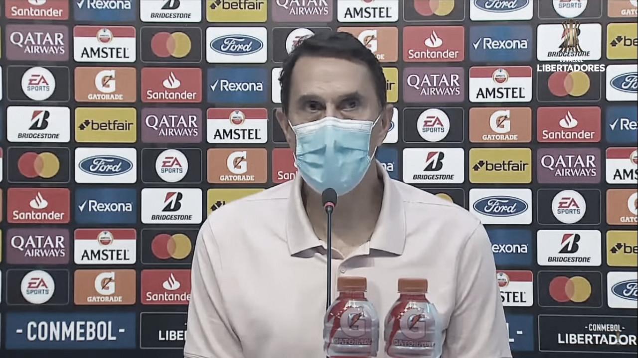"""Alexandre Guimarães: """"Toda la aplicación para este partido fue perfecta"""""""